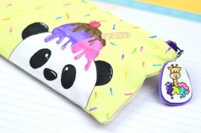 lapicera oso panda