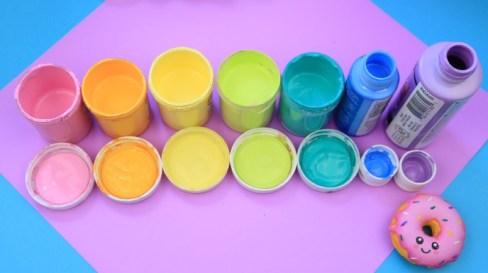 manualidades con pintura acrilica