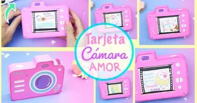 Tarjeta Cámara de Amor / Regalo Original