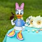 Papercraft Easter - caja de caramelos de Daisy. Manualidades a Raudales,.