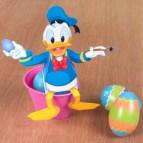 Papercraft de Easter - Caja de caramelos de Donald. Manualidades a Raudales.