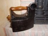 Restauración plancha carbón - Manualidades a Raudales.