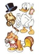 Recortable del Pato Donald de Disney. Manualidades a Raudales.