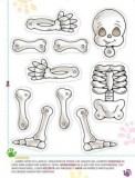 Marioneta de un esqueleto 2. Manualidades a Raudales.