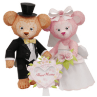 Papercraft imprimible y armable de Osita y osito de boda. Manualidades a Raudales.