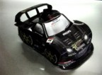 Papercraft del coche Rockstar Dome NSX 2009. Manualidades a Raudales.
