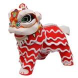 Papercraft imprimible y recortable de la Danza del león. Manualidades a Raudales.