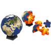 Papercraft del Puzzle del globo terrestre. Manualidades a Raudales.