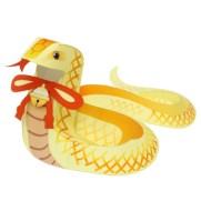 Papercraft imprimible y armable de una Serpiente de cascabel. Manualidades a Raudales.
