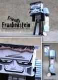 Papercraft Infantil de Frankenstein. Manualidades a Raudales.