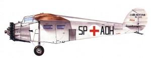 Maqueta 3D imprimible y armable del avión Lublin R-XVIb. Manualidades a Raudales.