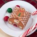 Papercraft de una Caja de caramelos para Navidad. Manualidades a Raudales