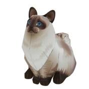 Papercraft imprimible y armable del Gato Ragdoll. Manualidades a Raudales.