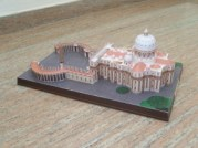 Papercraft Building de la Basílica de San Pedro en el Vaticano. Manualidades a Raudales.