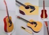 Papercraft recortable de una Guitarra española. Manualidades a Raudales.