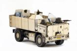 Papercraft recortable del vehículo militar Tatra SOT. Manualidades a Raudales.