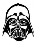 Mascara de Darth Vader. Star Wars. Manualidades a Raudales.
