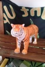 Papercraft del Tigre de Bengala. Manualidades a Raudales.
