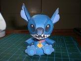 Papercraft recortable de Stitch de Disney. Manualidades a Raudales.