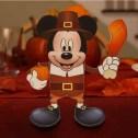 Papercraf de Mickey de thanksgiving.