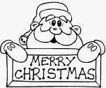 Fichas para colorear navideñas - christmas. Manualidades a Raudales.