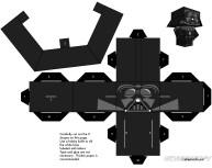 Cubeecraft de personajes de Star Wars.