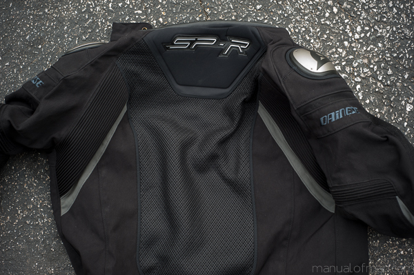 Dainese Super Speed Textile Jacket - Back