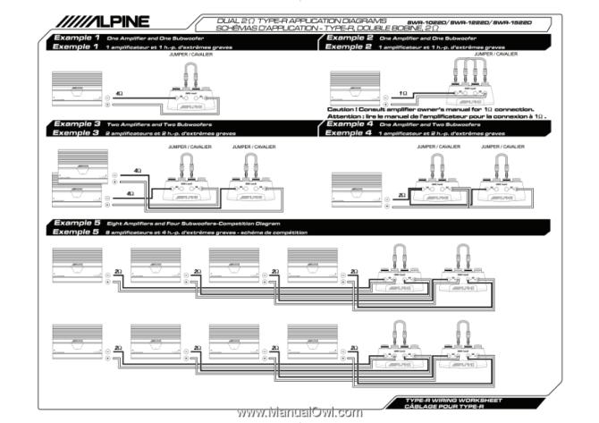 application diagrams schemas d'application double