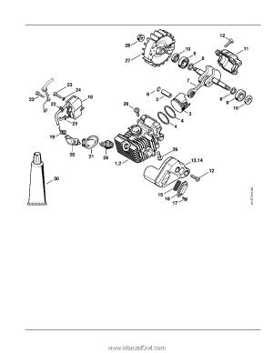 Stihl MS 192 T CE | Parts Diagram  Page 1