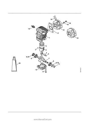 Stihl MS 211 CBE | Parts Diagram  Page 5
