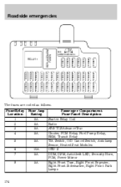 2001 Lincoln LS | Owner's Manual  Page 178