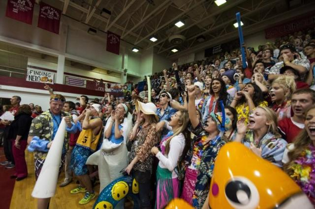 The entire class stays high-spirited throughout the event. Photo by Jack Steele Mattingly