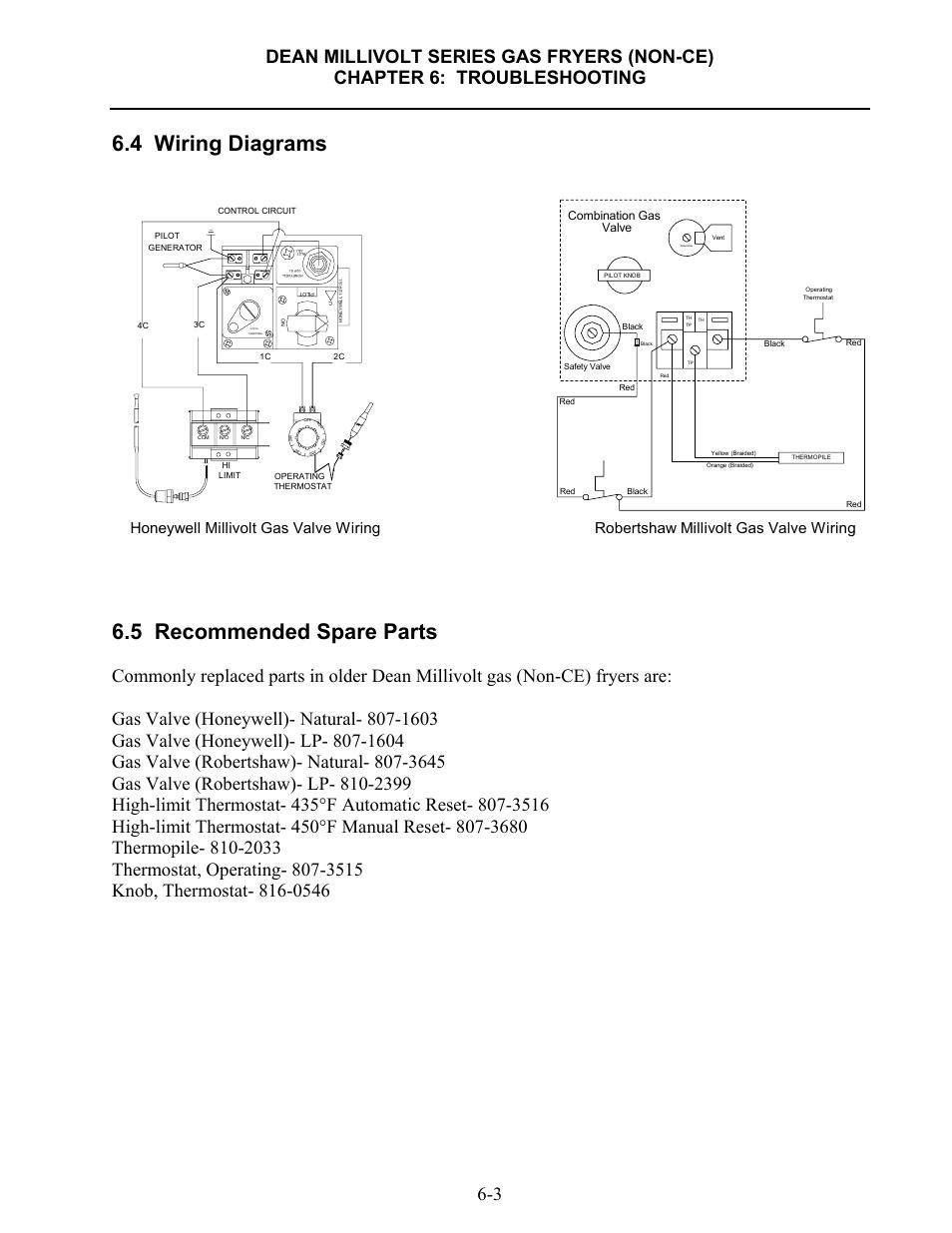 Millivolt Gas Valve Wiring Diagram Robertshaw 700 434