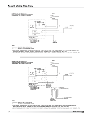 Ansul® wiring plan view | Greenheck Fan Grease Grabber H2O