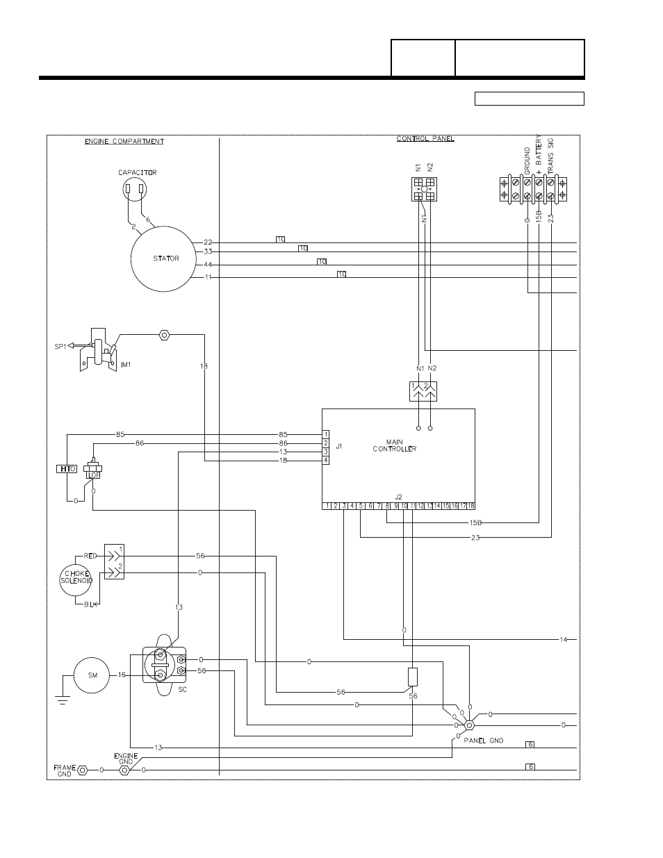 Kw Hls Wiring Diagram Auto Electrical Cub Cadet Onan Engine Cckb Ms 4006j