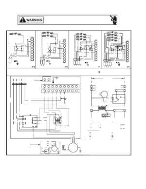 Accessories wiring diagrams | Goodman Mfg RT6100004R13 User Manual | Page 64  69