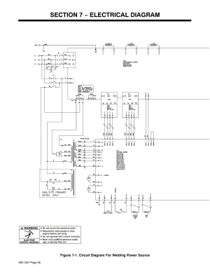 Section 7 − electrical diagram | Miller Electric