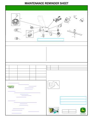 John Deere JS46 User Manual | 1 page