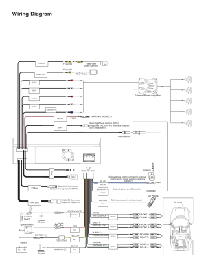Wiring diagram | Jensen VM9214 User Manual | Page 4  12