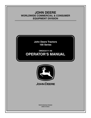 John Deere la105 User Manual | 52 pages | Also for: Tractors 100 Series, LA115, LA125, LA135