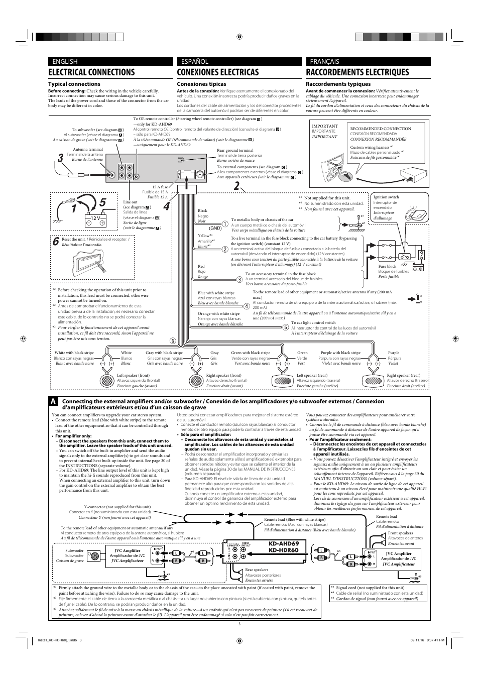 Modern Car Stereo Jvc Kd Hdr60 Wiring Diagram Photo - Wiring Diagram ...