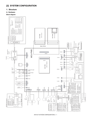 2] system configuration, Structure, Mcupwb   Sharp