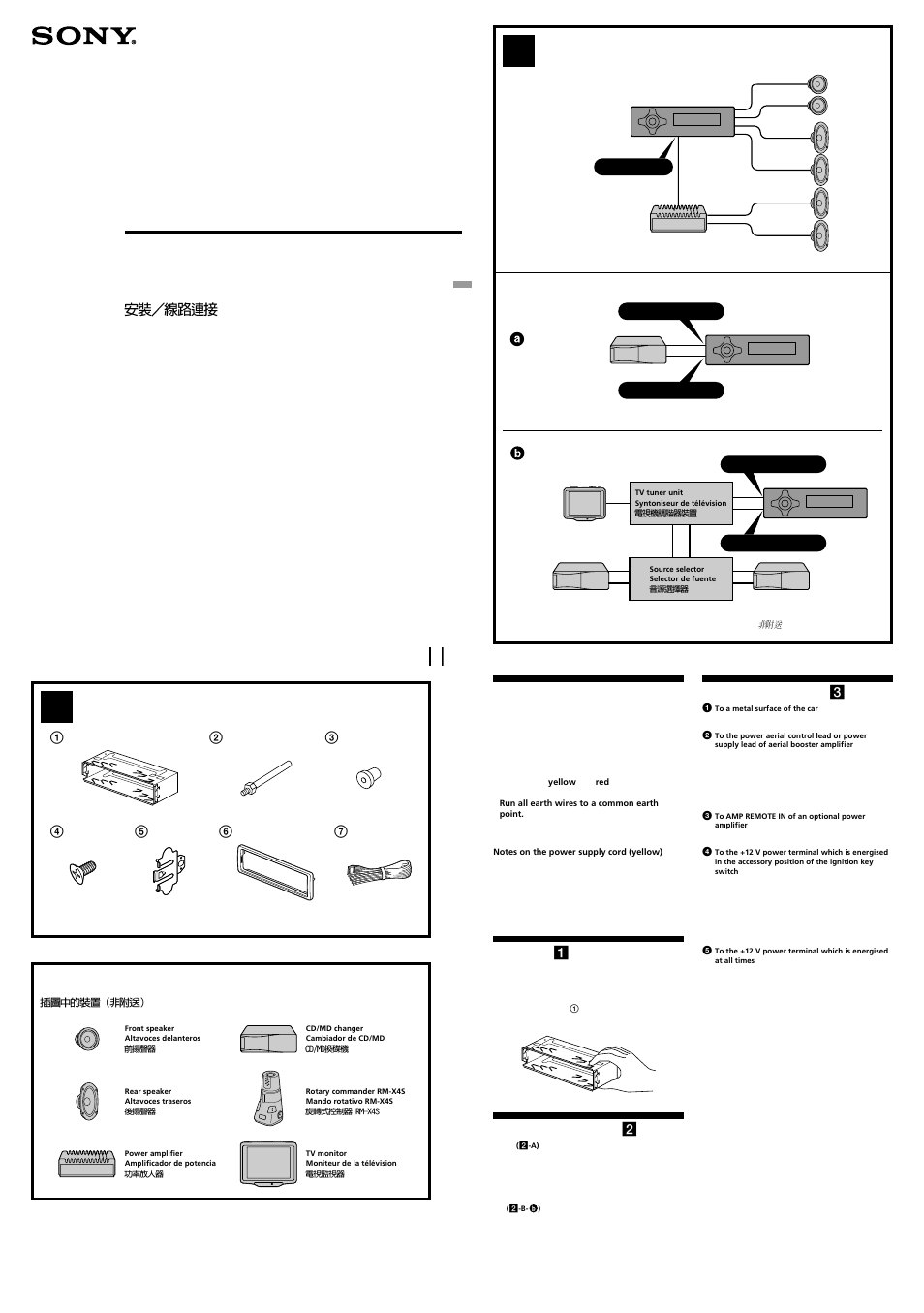 Sony Stereo Wire Harness Diagram : 32 Wiring Diagram