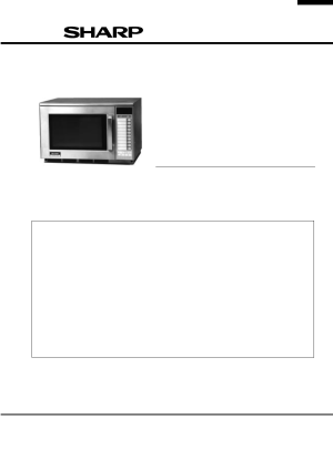 Sharp R2397 User Manual | 44 pages