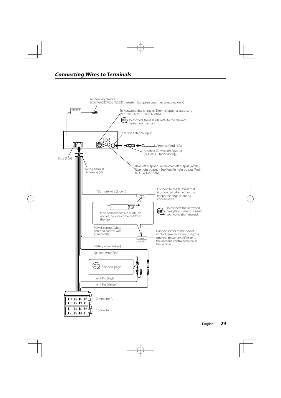 Kenwood Kdc 135 Wiring Diagram Guide And Troubleshooting Of 7 Pin Layout Gmc Way Trailer Plug 152