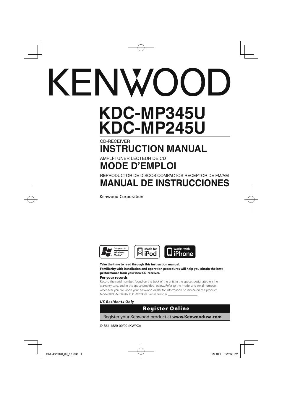 Diagrams 419300 kenwood kdc mp345u wiring diagram kenwood kdc Kenwood Kdc-252U Wiring Diagram Kenwood KDC X794 Wiring-Diagram Kenwood KDC-MP345U Wiring-Diagram Model
