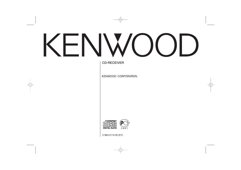 Kenwood Kdc 306 En User Manual