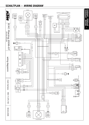 Schaltplan, Wiring diagram, Cd i | KTM 250 XCF User