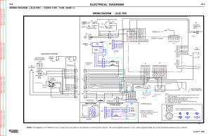 Electrical diagrams, Wiring diagram ln25 pro, Ln25™ pro