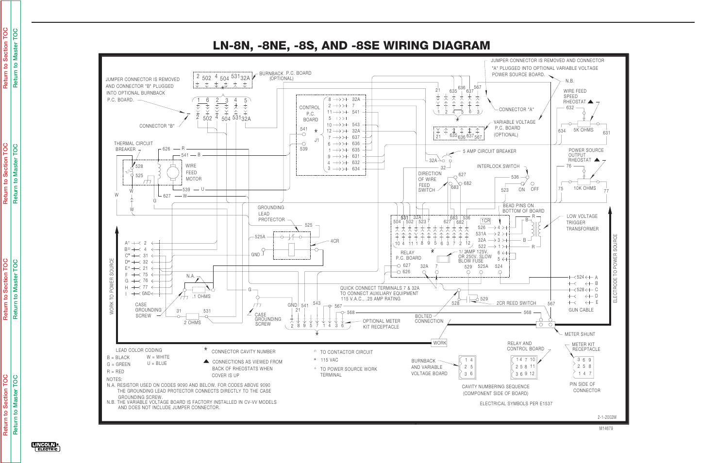 Wiring Diagram Electrical Diagrams Ln 8n 8ne 8s And